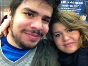 early Sunday morning date to Central Park on the subway